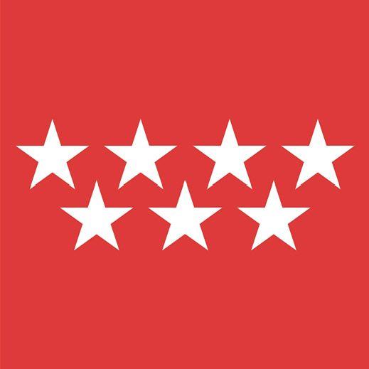 Bandiera Comunità di Madrid - 1984