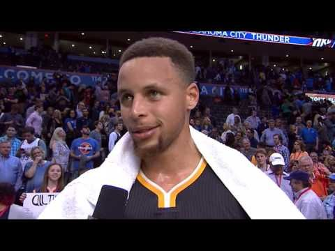 Stephen Curry Game Winner - Golden State Warriors vs Oklahoma City Thund...