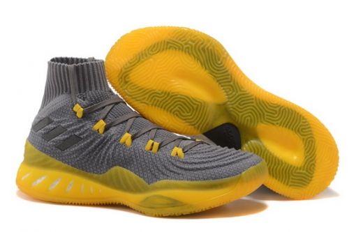 Cheap Priced adidas Crazy Explosive 17 Primeknit Light Grey Solar Yellow -  Mysecretshoes