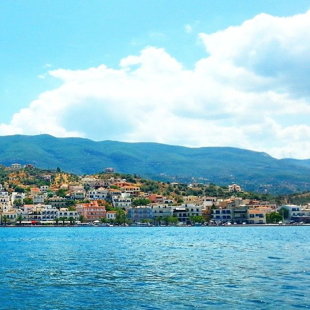 Beautiful Poros island!  Photo credits @princessria24