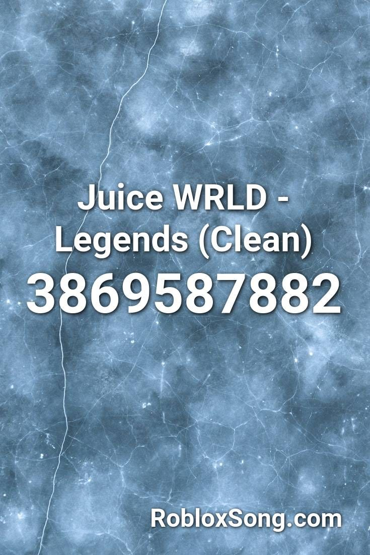 Juice Wrld Legends Clean Roblox Id Roblox Music Codes In