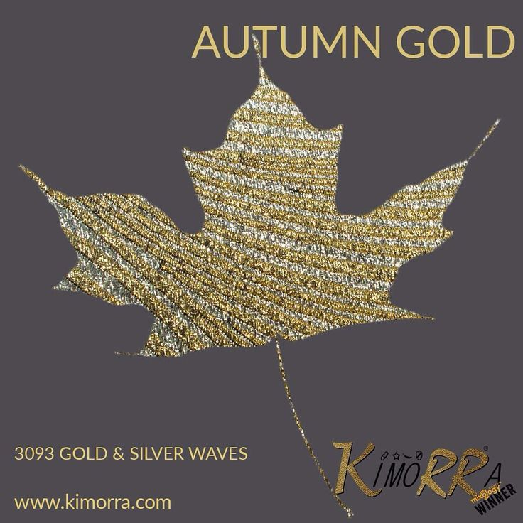 "3 Likes, 1 Comments - Changing The Face (@ctfoc) on Instagram: ""We love the autumn colours Add a shimmer to your interiors project with Kimorra® gold & silver…"""