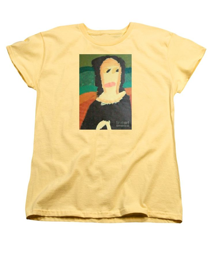 Patrick Francis Women's T-Shirt featuring the painting Mona Lisa 2014 - After Leonardo Da Vinci by Patrick Francis