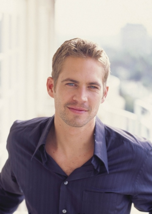 Paul Walker, this is for my daughter.