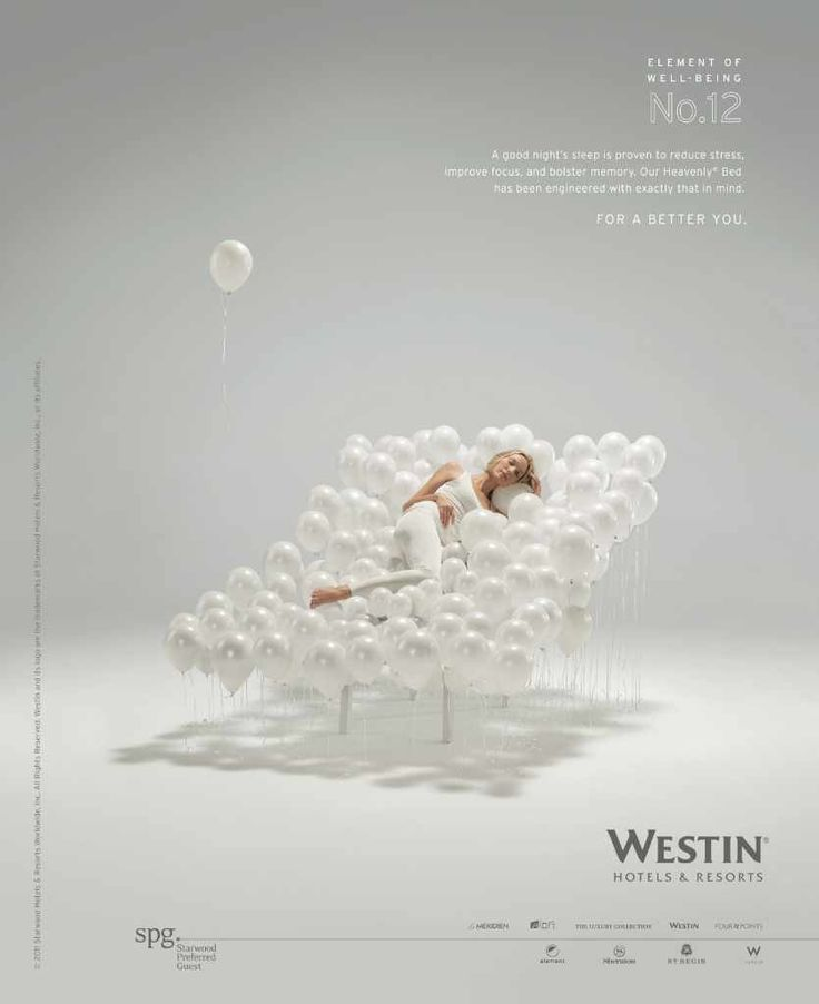 Westin Hotels: Element of well-being No.12
