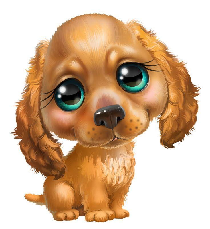 Картинки собак смешные нарисованные