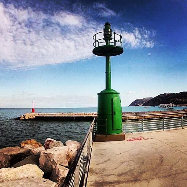 Cattolica , Adriatic Coast Italy #red #green - @hotelbelmarcattolica- #webstagram
