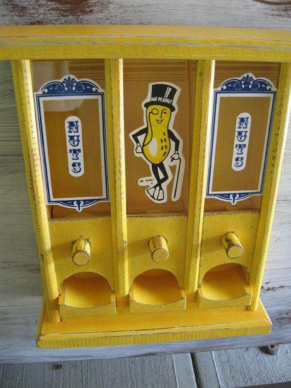 peanut dispenser machine