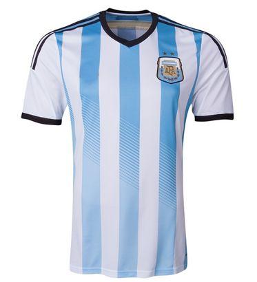 Argentina national team 2014 HOME SOCCER JERSEY SHIRT(PV) [1402291603]