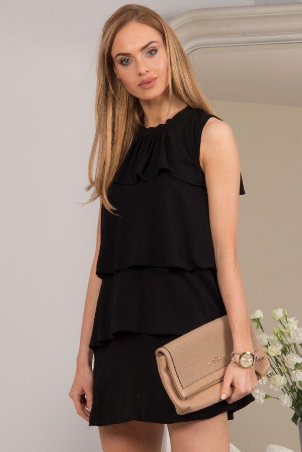 Sukienka czarna 98680