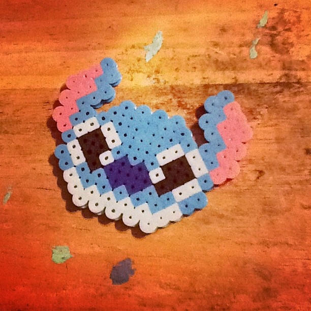 lilo and stitch perler!