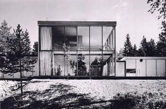 Christian Norberg Schulz – Planetveien house, Oslo
