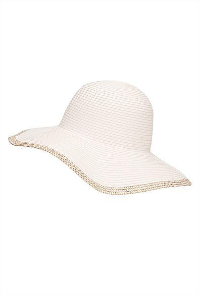 Metallic Brim Hat #witcherywishlist