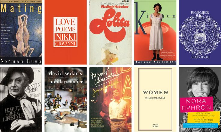 The actor, writer, director and editor Lena Dunham shares her 10 favorite books.