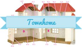 Free Downloadable and Printable Wallpaper for Calico Critters Homes | Townhome