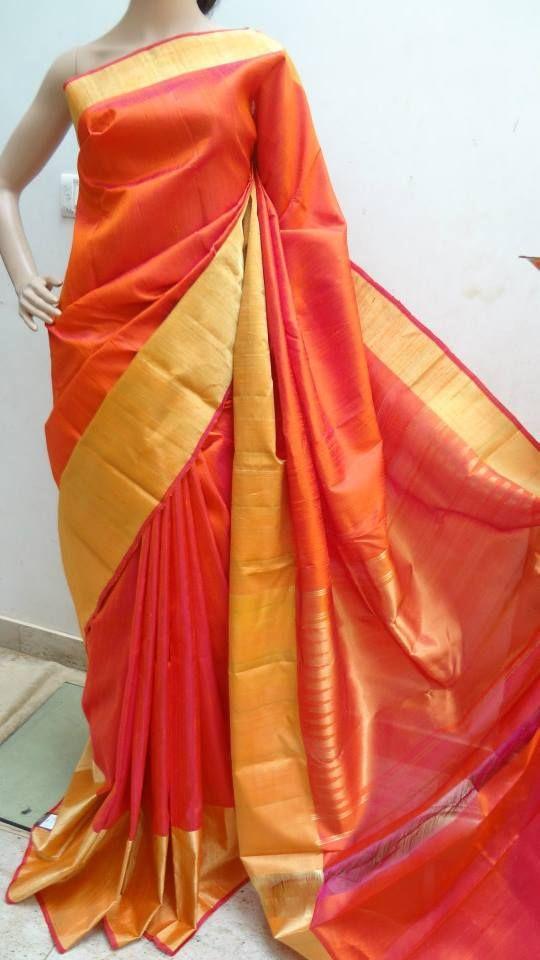 Latest Pure Raw Silk Saree | Buy Online Sarees | Elegant Fashion Wear Price:5800 #latest #pure #raw #silk #saree