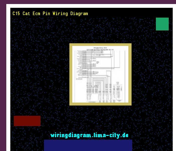 C15 cat ecm pin wiring diagram Wiring Diagram 174725 - Amazing