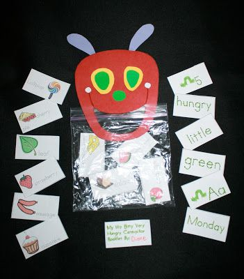 The Hungry Caterpillar Activity Packet