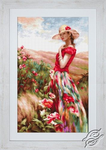 Local Color - Cross Stitch Kits by Luca-S - B530