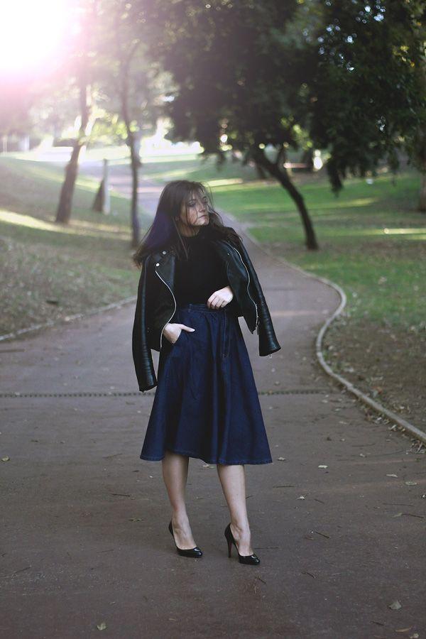 MY STYLE | DENIM MAXI SKIRT http://www.dressupforarmageddon.com/2014/11/03/denim-maxi-skirt/