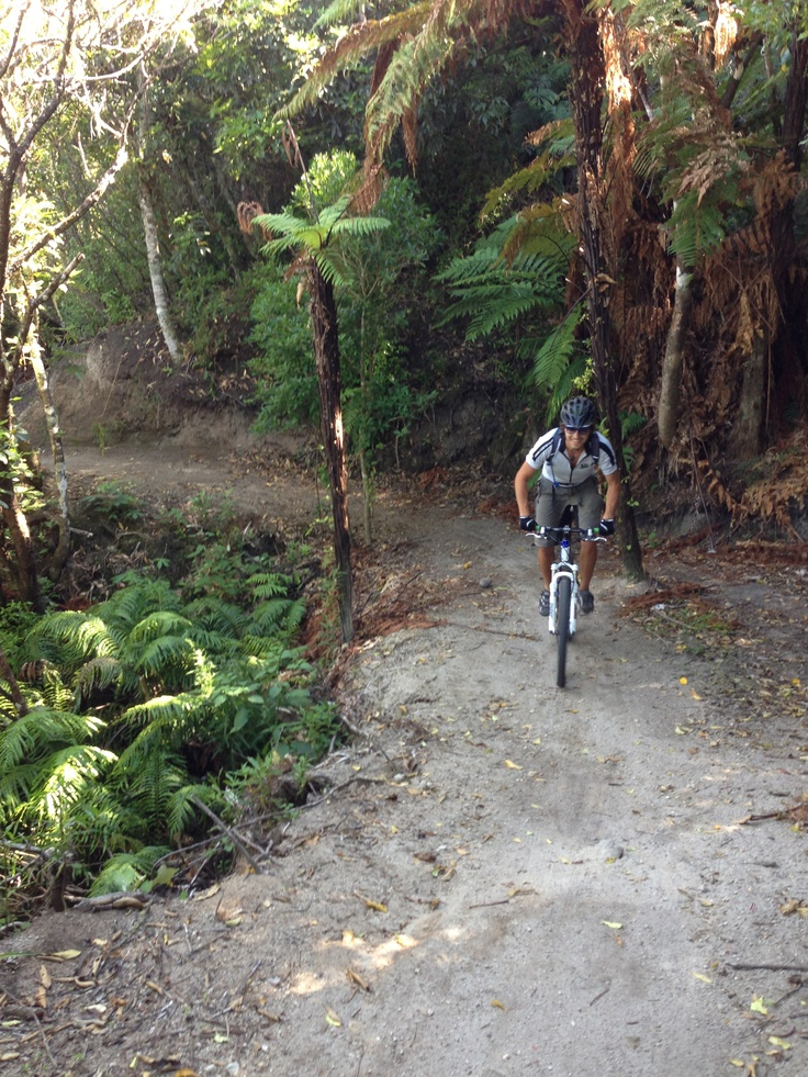 Matt on the K2K track just outside of Taupo