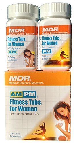 Fitness Tabs for Women | Gluten-Free Advanced Multivitamin Supplement | Special 2 Month Supply