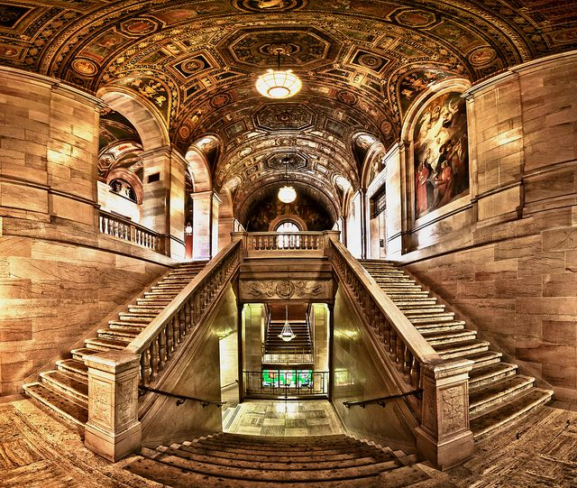 Detroit Public Library by w4nd3rl0st (InspiredinDesMoines), via Flickr