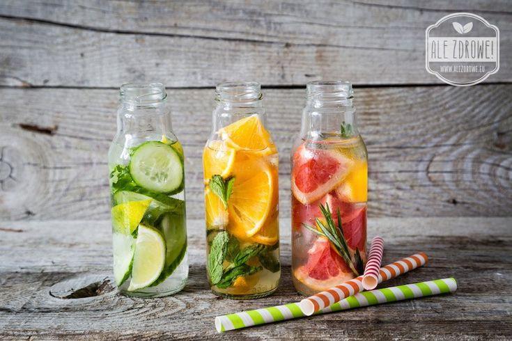 ALE ZDROWE - STYL ŻYCIA - Pyszne pomysły na oryginalne wody smakowe