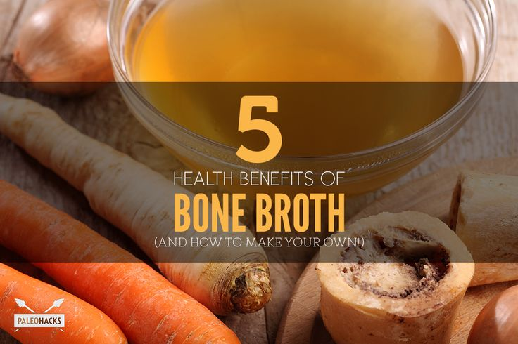 5 Health Benefits of Bone Broth (and How to Make Your Own!)