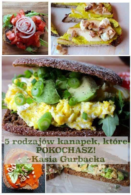 5 rodzajow kanapek bez miesa