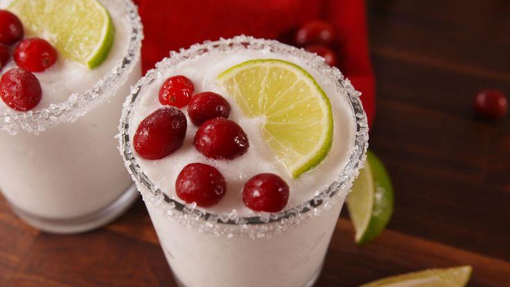 White Christmas Margaritas  - Delish.com