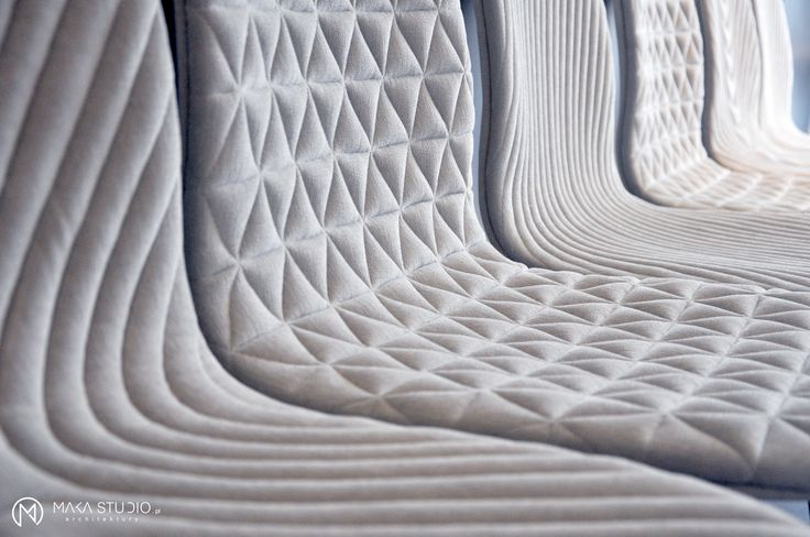 A project by Maka Studio using Mannequin chairs all in white - nice