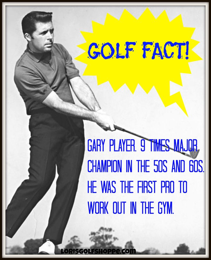 Gary Player, a South African professional golfer, widely regarded as one of the greatest players in the history of golf. #facts #golf #lorisgolfshoppe