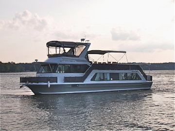 2005 Harbor-Master 52 Pilothouse Wide Body Power Boat For Sale - www.yachtworld.com