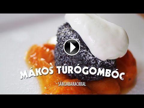 Mákos túrógombóc sárgabarackkal - Electrolux Egy falat inspiráció - YouTube