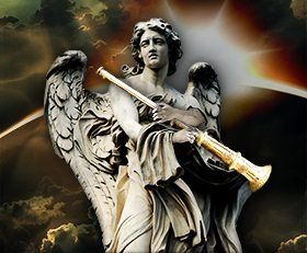 The Book of Revelation describes seven trumpets that will sound in accordance with seven world-changing events that lead up to the end of the world.