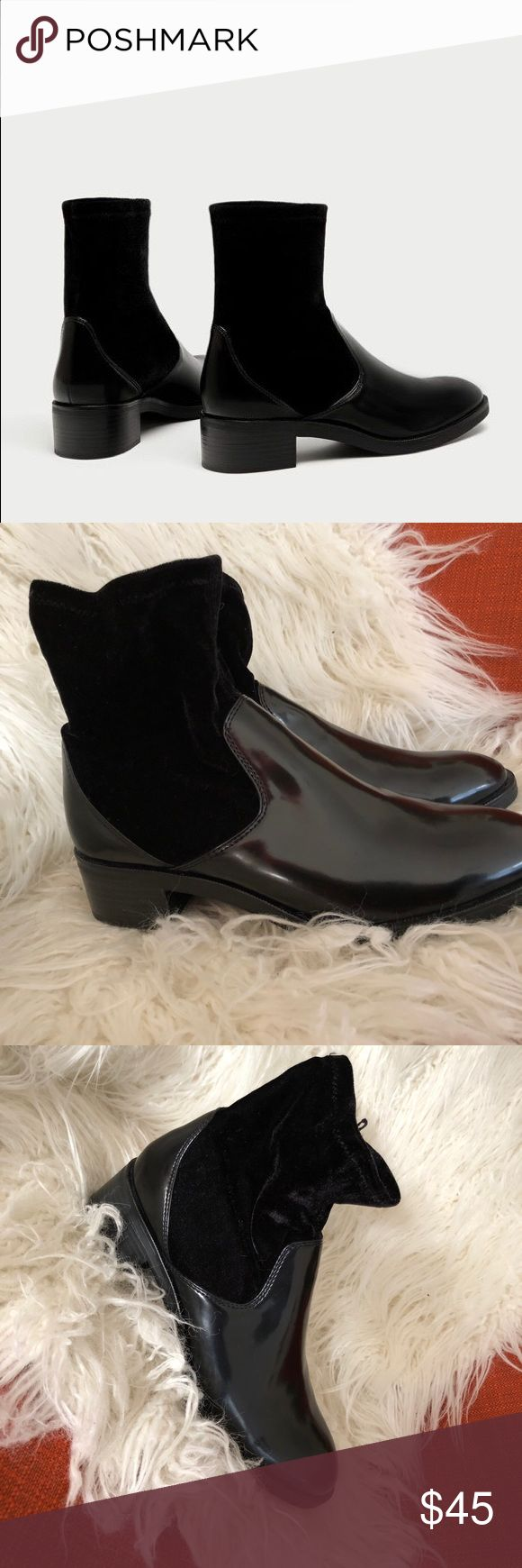 Zara boots Brand new- NBW Zara boots! Size 38 Zara Shoes Ankle Boots & Booties