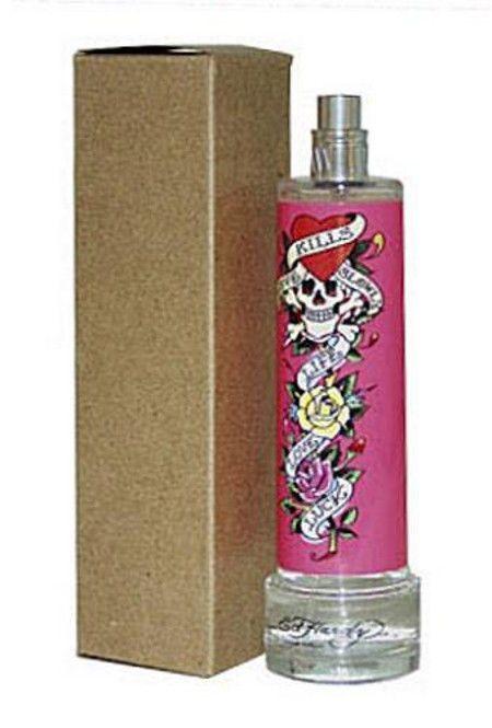 ED HARDY Love Kills Slowly by Christian Audigier 3.4 oz edp Perfume NEW Tester  | eBay