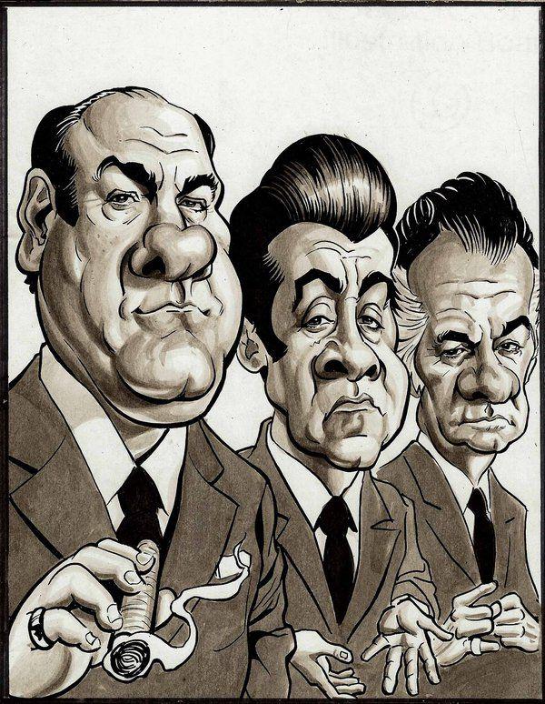 The Sopranos - Tony Soprano; Silvio Dante; and Paulie Walnuts #GangsterFlick