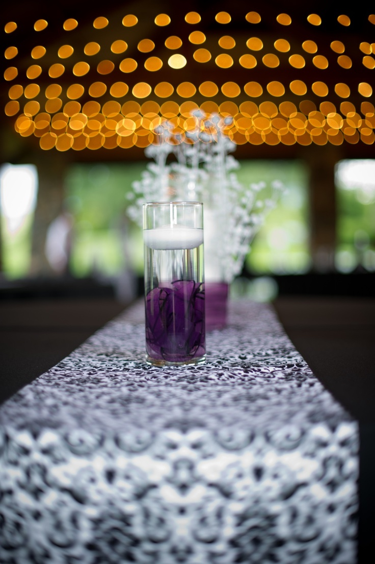 Purple candle idea