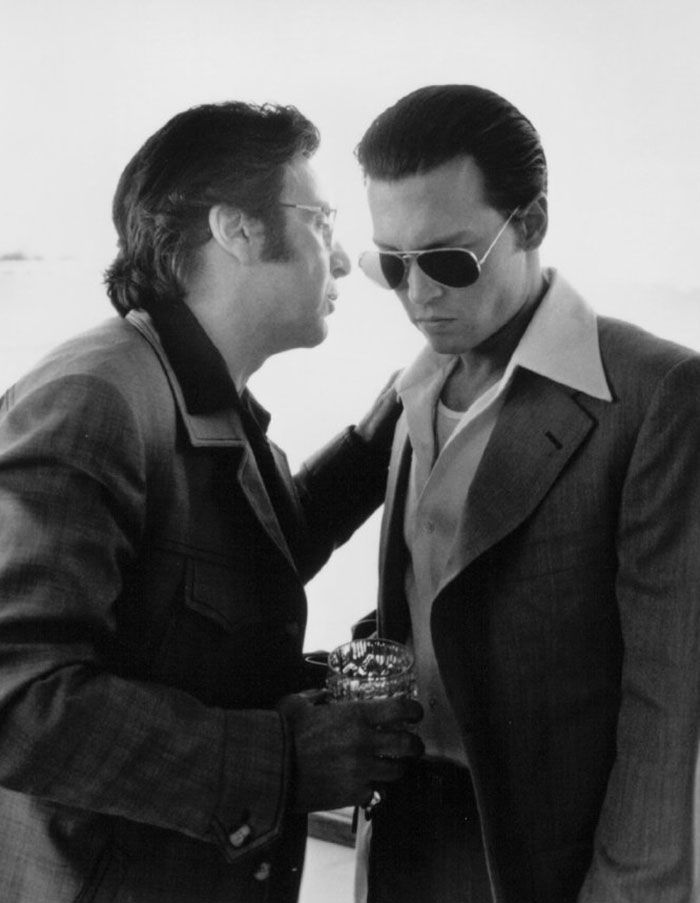 "Al Pacino y Johnny Depp en ""Donnie Brasco"", 1997"
