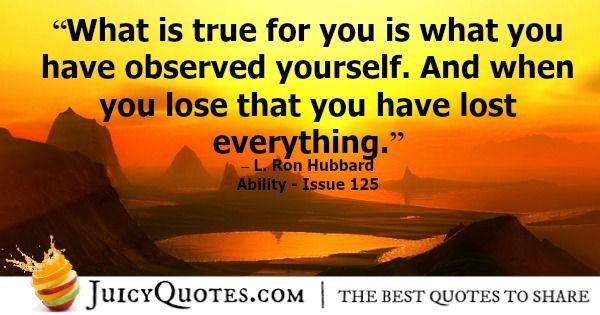 Scientology Quote 15