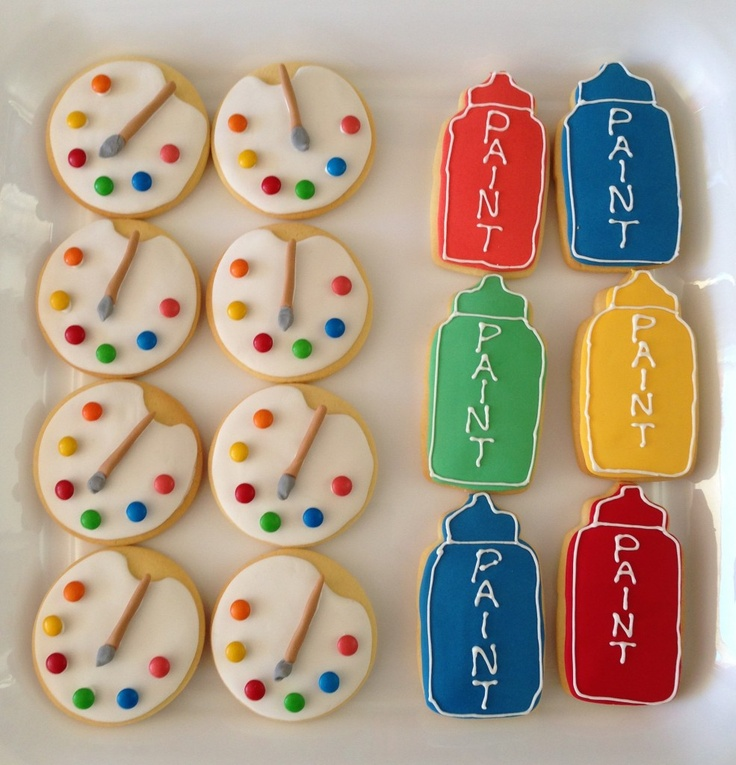 pallet paint cookies