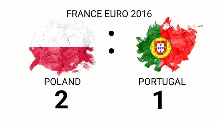 Poland vs PORTUGAL FRANCE EURO 2016