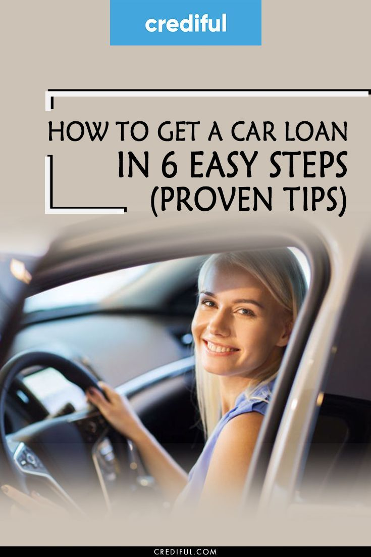 How To Get A Car Loan In 6 Easy Steps Proven Tips Car Loans Loan Finance Loans