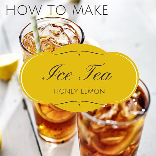 How to Make Ice Tea -  In the south sweet tea is staple in any refrigerator, and you wouldn't be a good hostess if you didn't have a fresh pitcher waiting to be served. http://oursimplelife-sc.com #icetea #icedtea