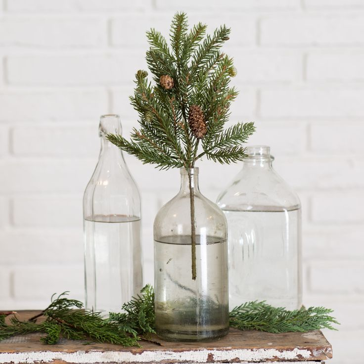White Spruce Spray with Pine Cones - Magnolia Market | Chip & Joanna Gaines