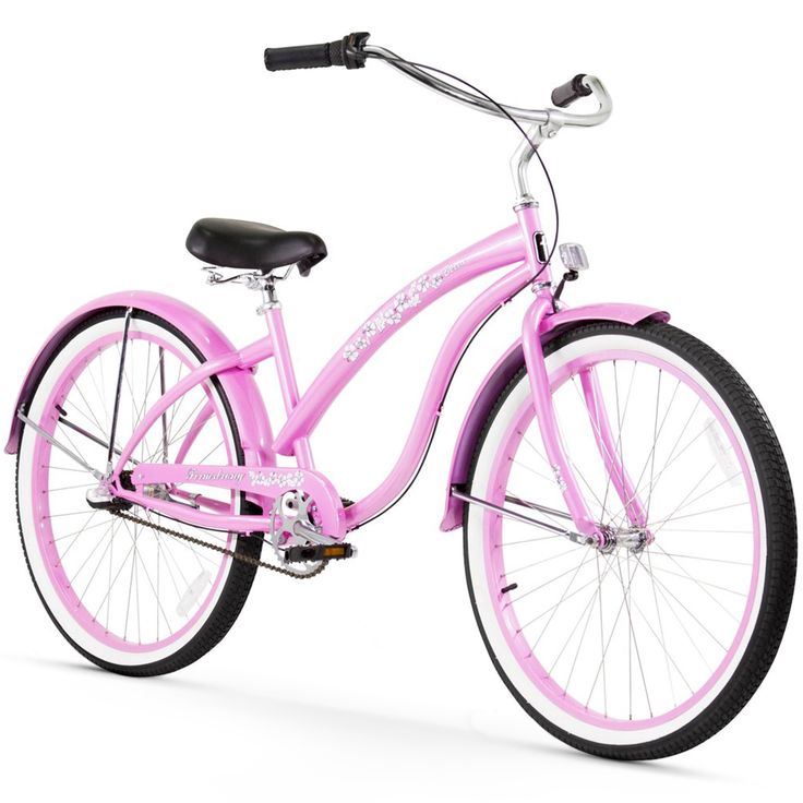 "26"" Firmstrong Bella Classic Three Speed Women's Beach Cruiser Bicycle,"