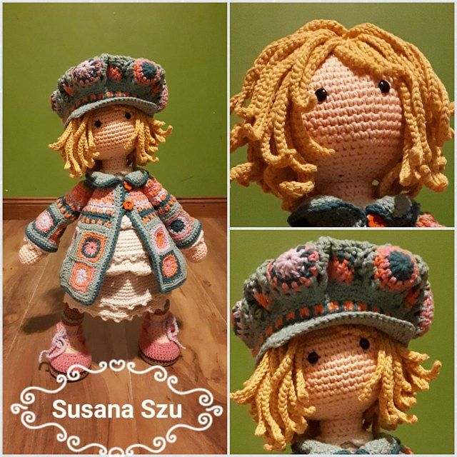 Crochet Pattern For Doll Zoey Pdf Deutsch English Francais