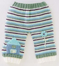 bebekler-icin-cizgili-orgu-pantolon-modelleri